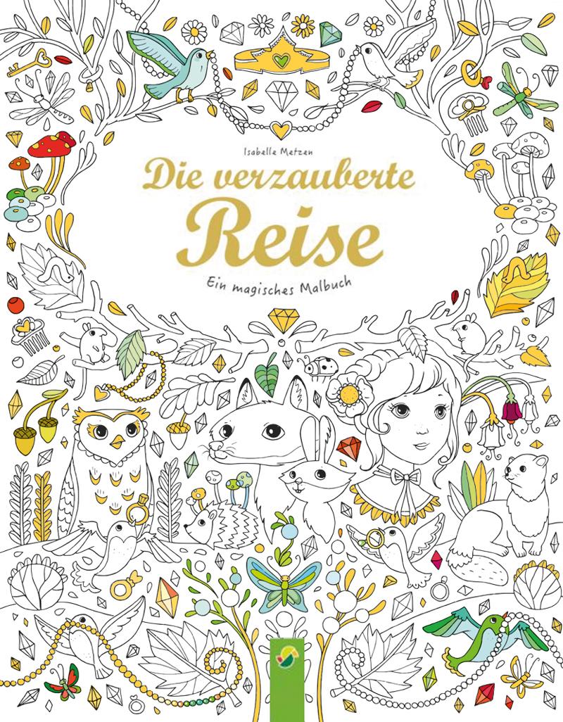 """Cover """"Die verzauberte Reise"""""""